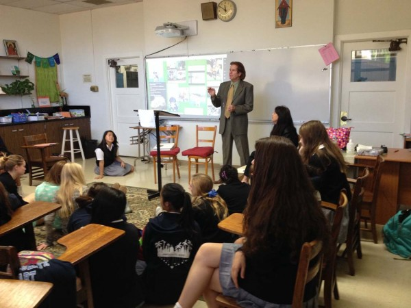 Seminar at Immaculate Heart Middle & High School
